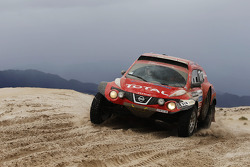 #318 Nissan Juke Buggy: Christian Lavieille and Jean-Michel Polato