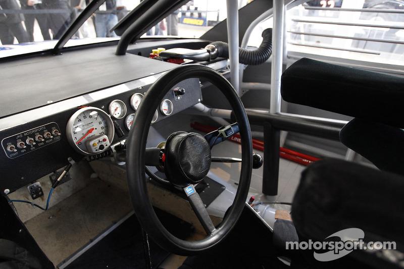 Cockpit van de Chevorlet SS