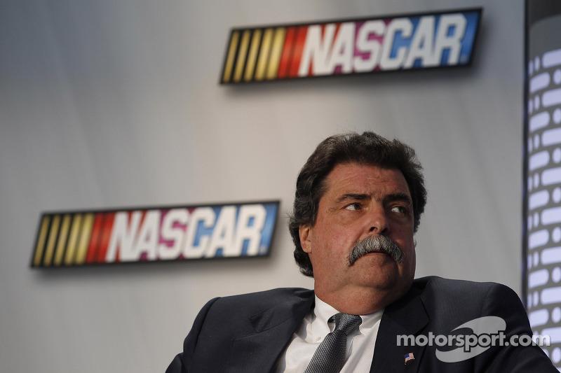 Michael Helton President of the NASCAR