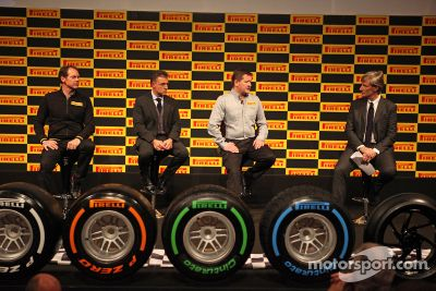 Présentation des pneus Pirelli 2013