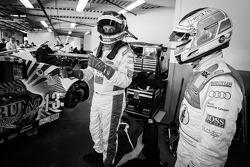Frank Biela en Markus Winkelhock
