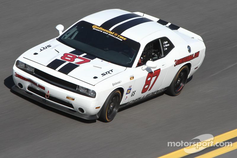 #87 Vehicle Technologies Dodge Challenger: Tony Ave, Jan Heylen, Doug Peterson, Moses Smith