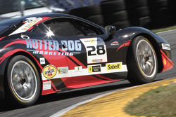 #28 Ferrari of Beverly Hills Ferrari 458: Jon Becker spins