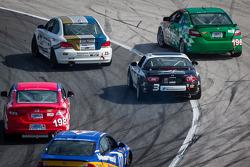 #197 RSR Motorsports Honda Civic SI: Tom Dyer, Andrew Novich komt los