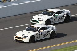 #71 Multimatic Motorsports Aston Martin Vantage: Tonis Kasemets, Michael Marsal e #55 Multimatic Motorsports Aston Martin Vantage: Jade Buford, Scott Maxwell