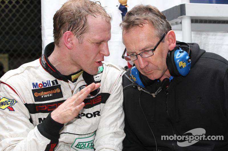 Jörg Bergmeister and Porsche Engineer