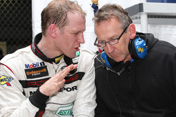 Jörg Bergmeister and Porsche Engineer