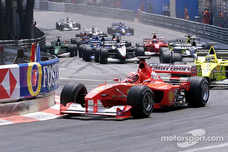 Михаэль Шумахер. ГП Монако, Воскресная гонка.