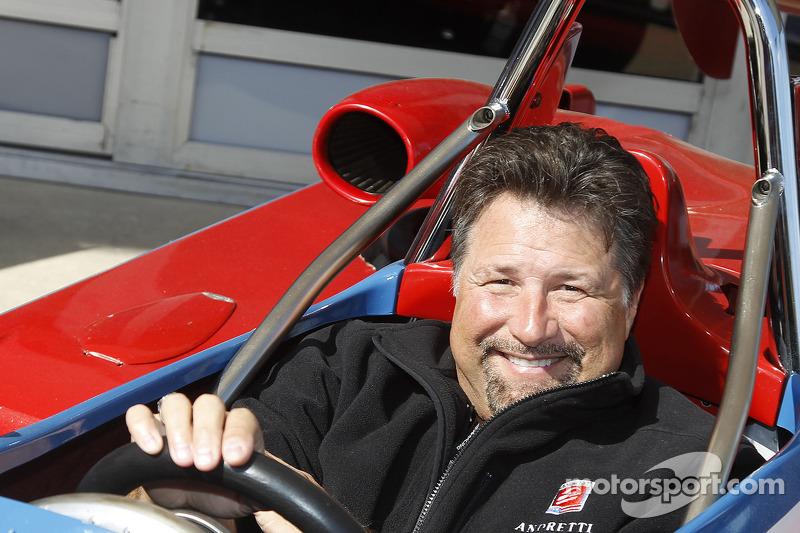 Michael Andretti beim Formel-V-Revival auf dem Daytona International Speedway