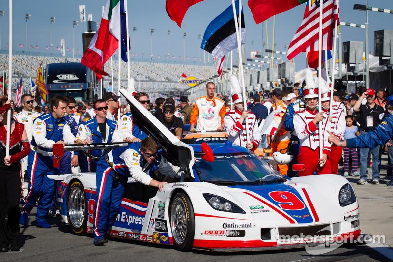 #9 Action Express Racing Corvette DP