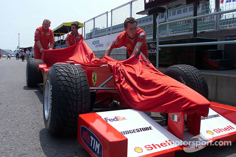 Equipo Ferrari descarga