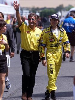 Eddie Jordan and Heinz-Harald Frentzen