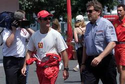 Rubens Barrichello et Norbert Haug, Mercedes-Benz Motorsport