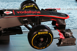 McLaren MP4-28 nosecone detail
