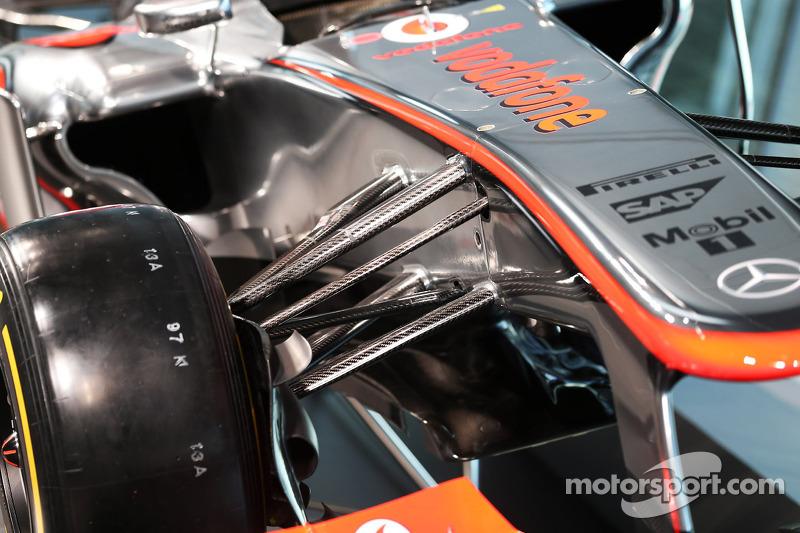 Презентация McLaren Mercedes MP4-28, Презентация.