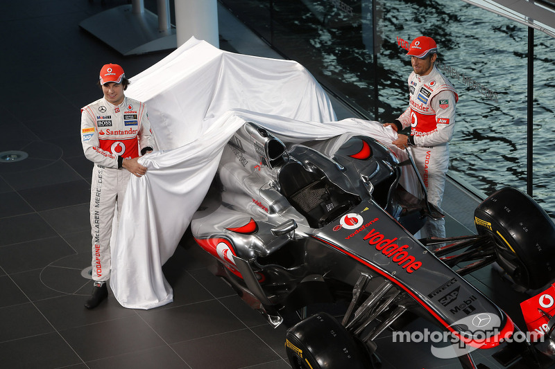 2013: McLaren MP4-28 Mercedes (одно четвертое место, 5-е место в КК)