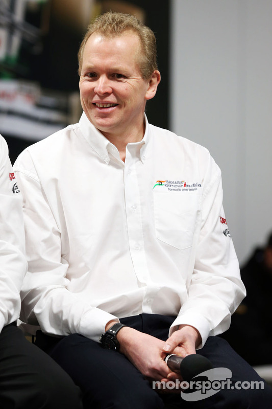 Andrew Green, diretor técnico da Sahara Force India F1