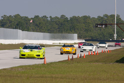 Ferraris on the backstretch