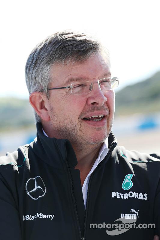 Ross Brawn, Mercedes-Teamchef