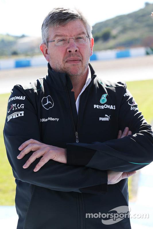 Керівник команди Mercedes AMG F1 Росс Браун