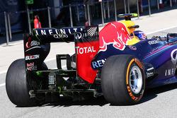 Mark Webber, Red Bull Racing RB9 rear diffuser