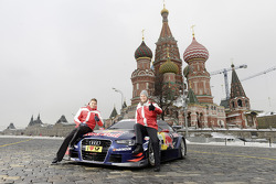 Audi unveils 2013 DTM car in Moscow