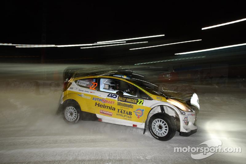 Pontus Tideman and Stig Rune, Ford Fiesta WRC
