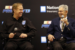 Rusty Wallace and Leonard Wood