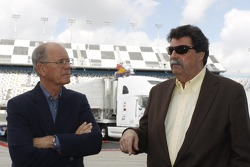 James C. France, NASCAR Vice Chairman/Executive Vice President, Mike Helton, NASCAR-President