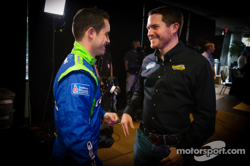 Casey Mears, Germain Racing Ford en Brian Vickers