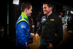 Casey Mears, Germain Racing Ford and Brian Vickers