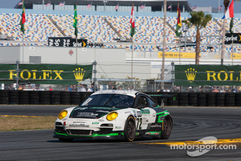 #72 Park Place Motorsports Porsche GT3: Chuck Cole, Grant Phipps, Mike Vess, Mike Skeen, Jean-Franco