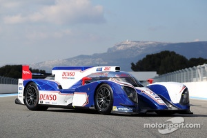 Toyota TS030 HYBRID, the super-capacitor is inside.