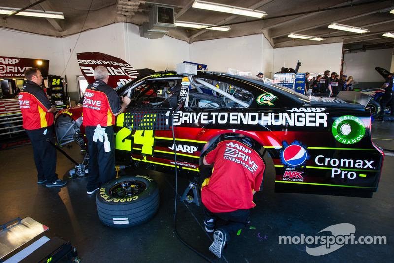 De auto van Jeff Gordon, Hendrick Motorsports Chevrolet
