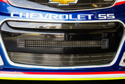 Front grille for Danica Patrick, Stewart-Haas Racing Chevrolet