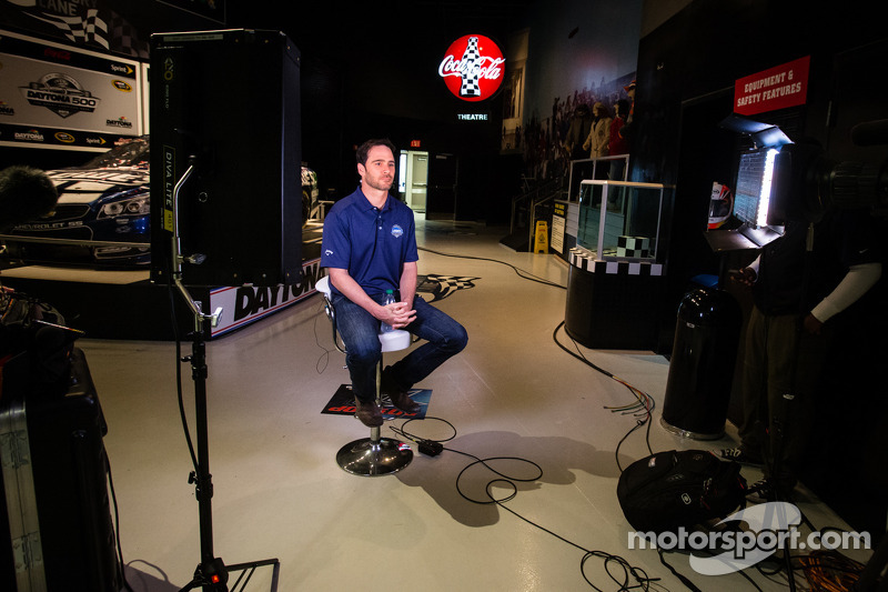 2013 Daytona 500 winner Jimmie Johnson, Hendrick Motorsports Chevrolet