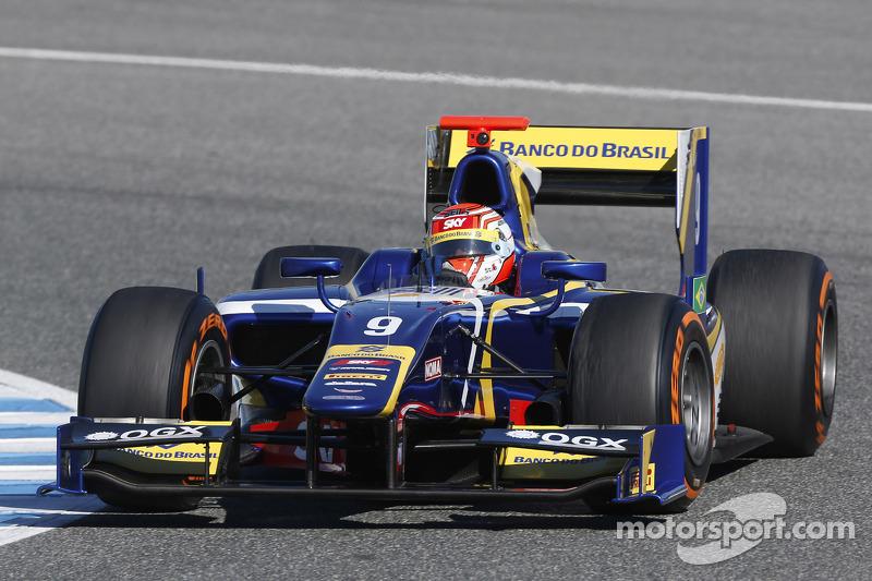 Em 2013, Nasr conseguiu 6 pódios na GP2 e melhorou sua classificação em relação ao ano anterior, terminando o campeonato na 4ª posição.