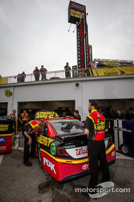 Carro de Clint Bowyer, Michael Waltrip Racing Toyota