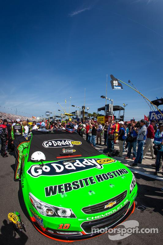 Car of Danica Patrick, Stewart-Haas Racing Chevrolet