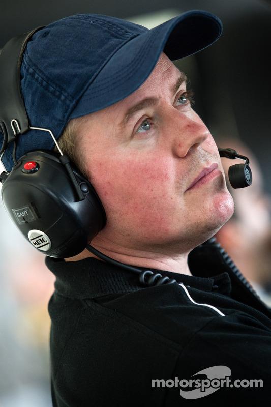 Rebellion Racing chefe de equipe Bart Hayden