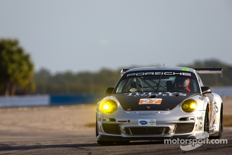 #27 Dempsey Racing Porsche 911 GT3 Cup: Patrick Dempsey, Andy Lally, Joe Foster