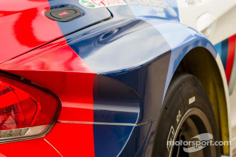 BMW Team RLL BMW Z4 GTE aerodynamica