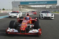 Ferrari photoshoot