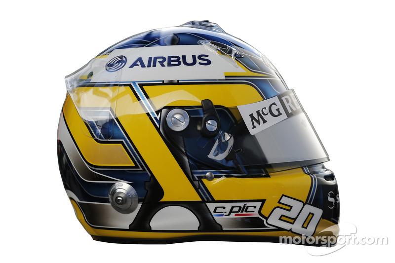 Шарль Пик. ГП Австралии, Шлемы пилотов.