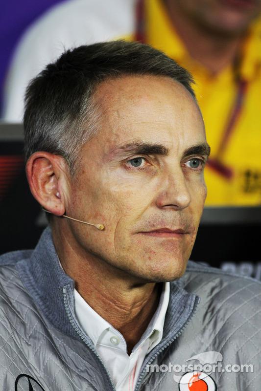 Martin Whitmarsh, CEO da McLaren