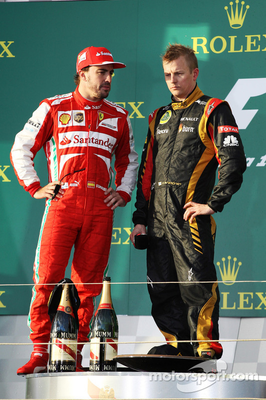 Fernando Alonso, 2º en el GP de Australia 2013