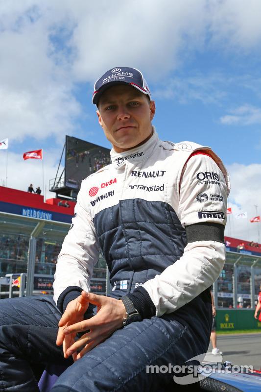 Valtteri Bottas, Williams no desfile de pilotos
