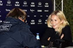 Hanna Prater, Sebastian Vettel'in kız arkadaşı, Red Bull Racing