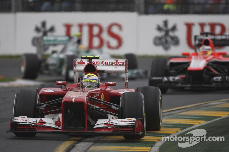 Фелипе Масса. ГП Австралии, Воскресная гонка.