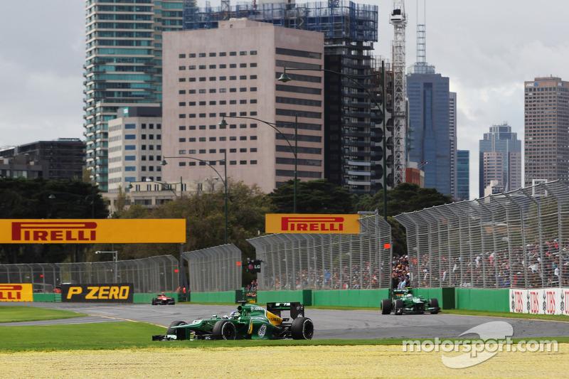 Гидо ван дер Гарде. ГП Австралии, Воскресная гонка.